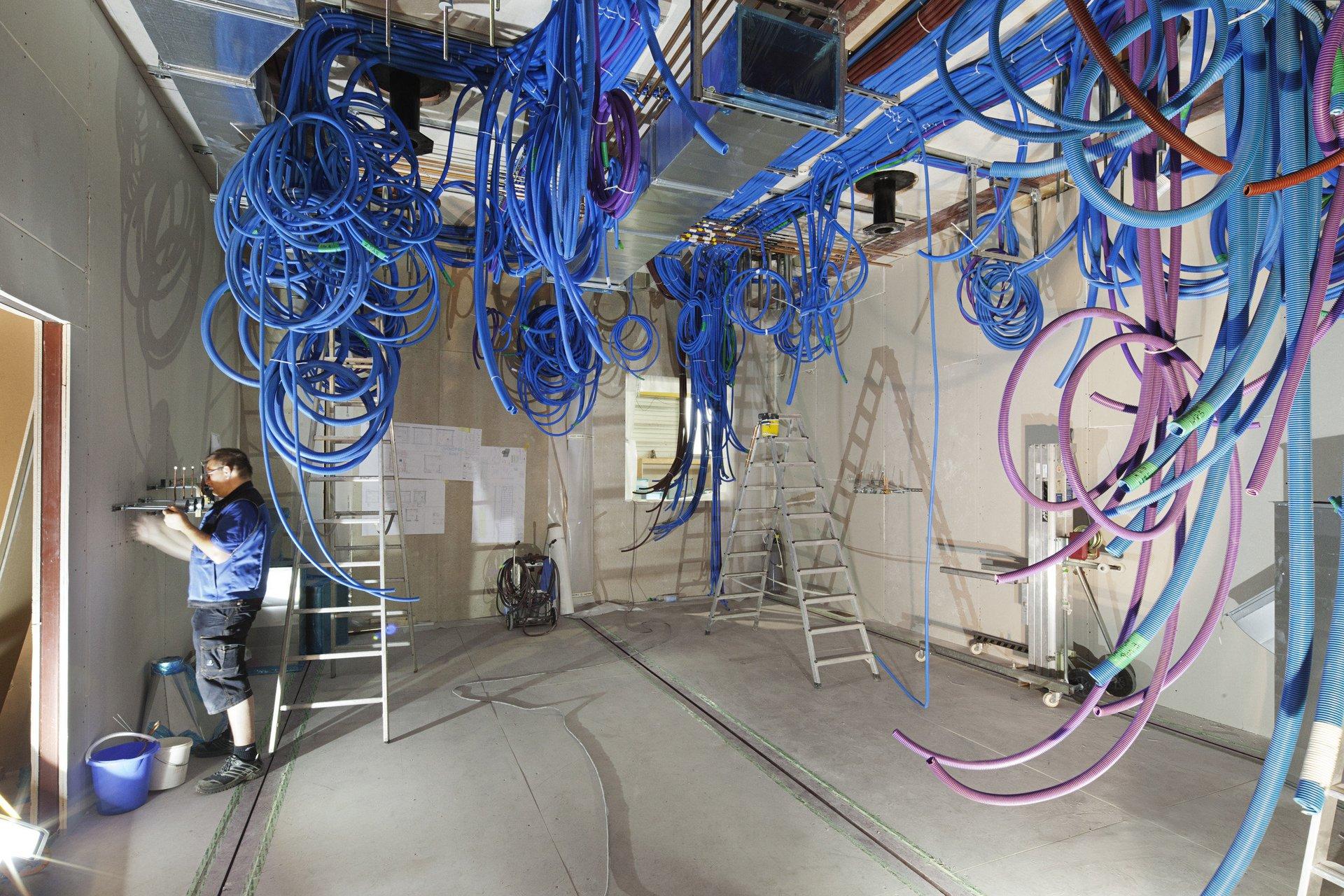Technische/ elektrische Installation für Operationssaal