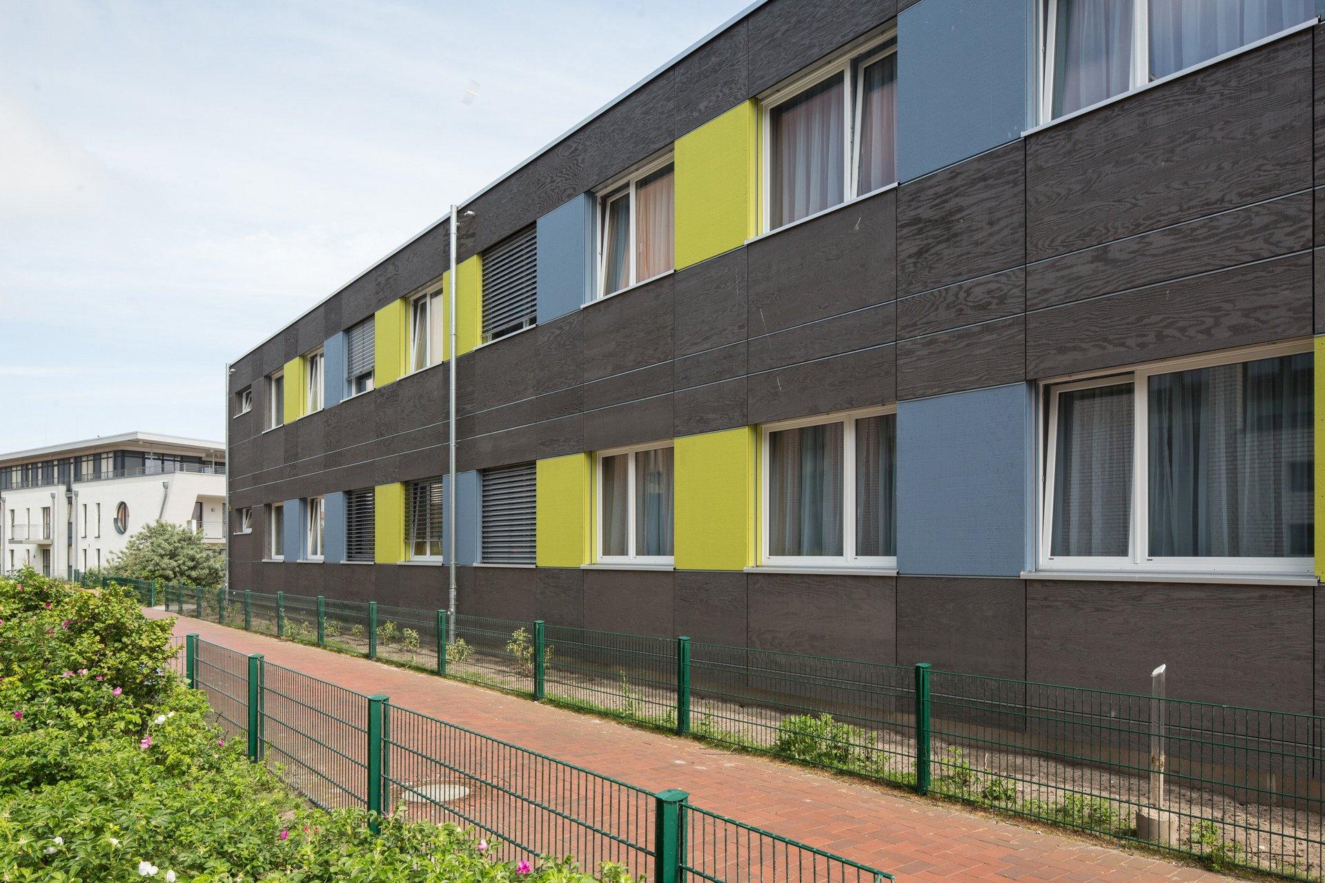 Fenêtres à double vantail, à agencement régulier (construction modulaire)