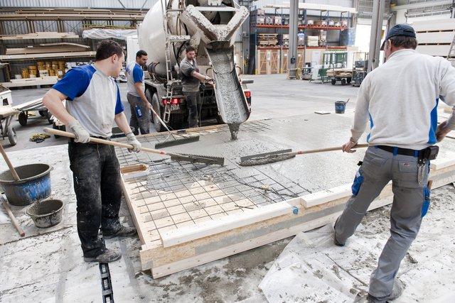 Erne Ag Holzbau Suprafloor Die Holz Beton Verbundlosung