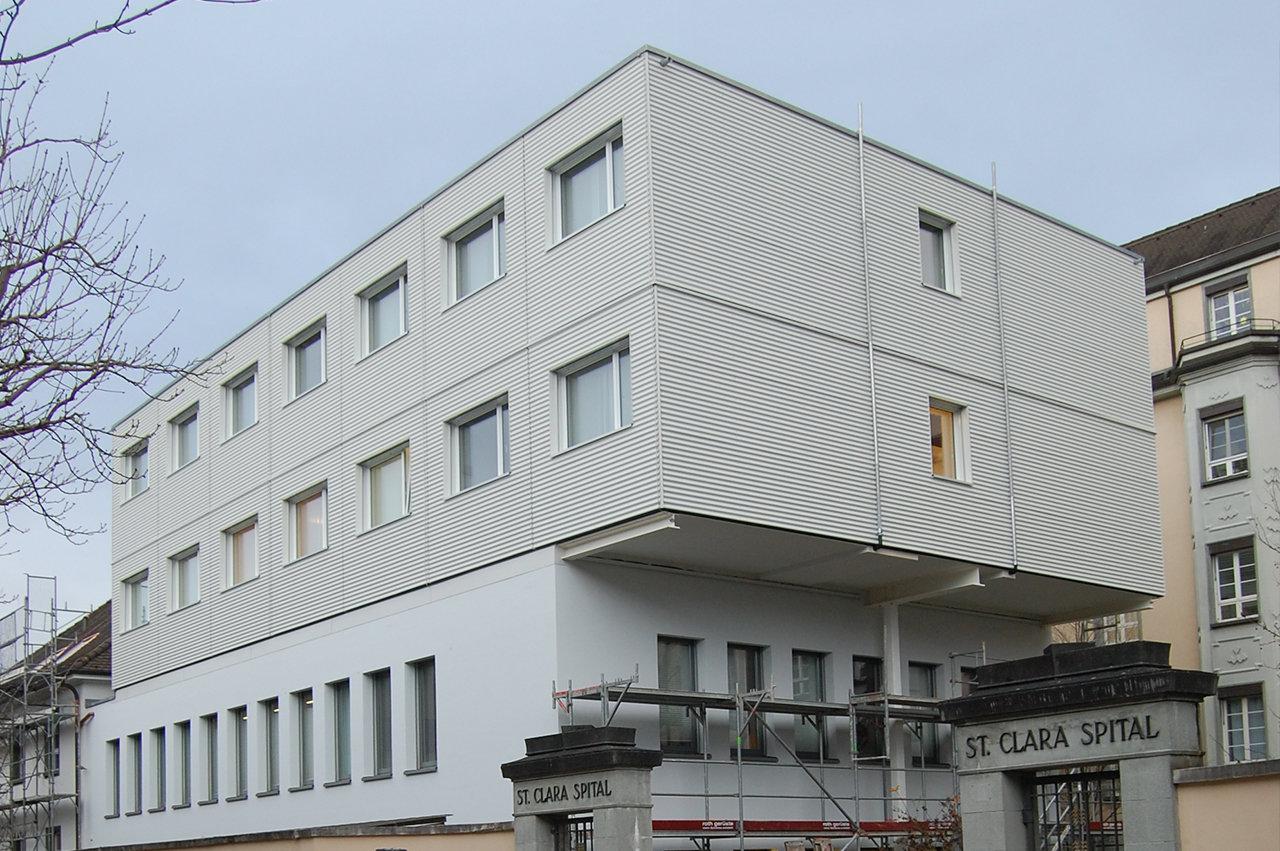 Provisorium Clara Spital Basel