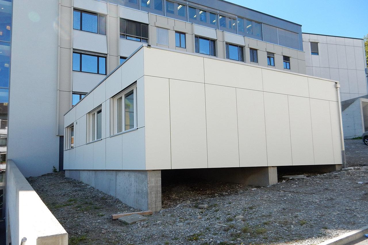 Modulbauprovisorium Verwaltung