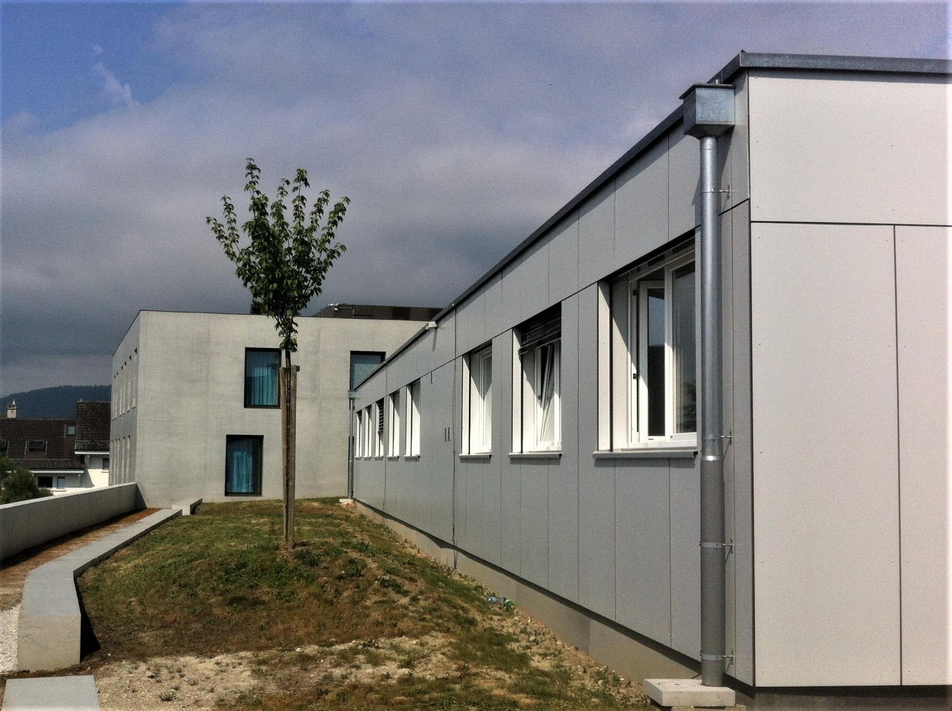 Rolle Construction modulaire acier