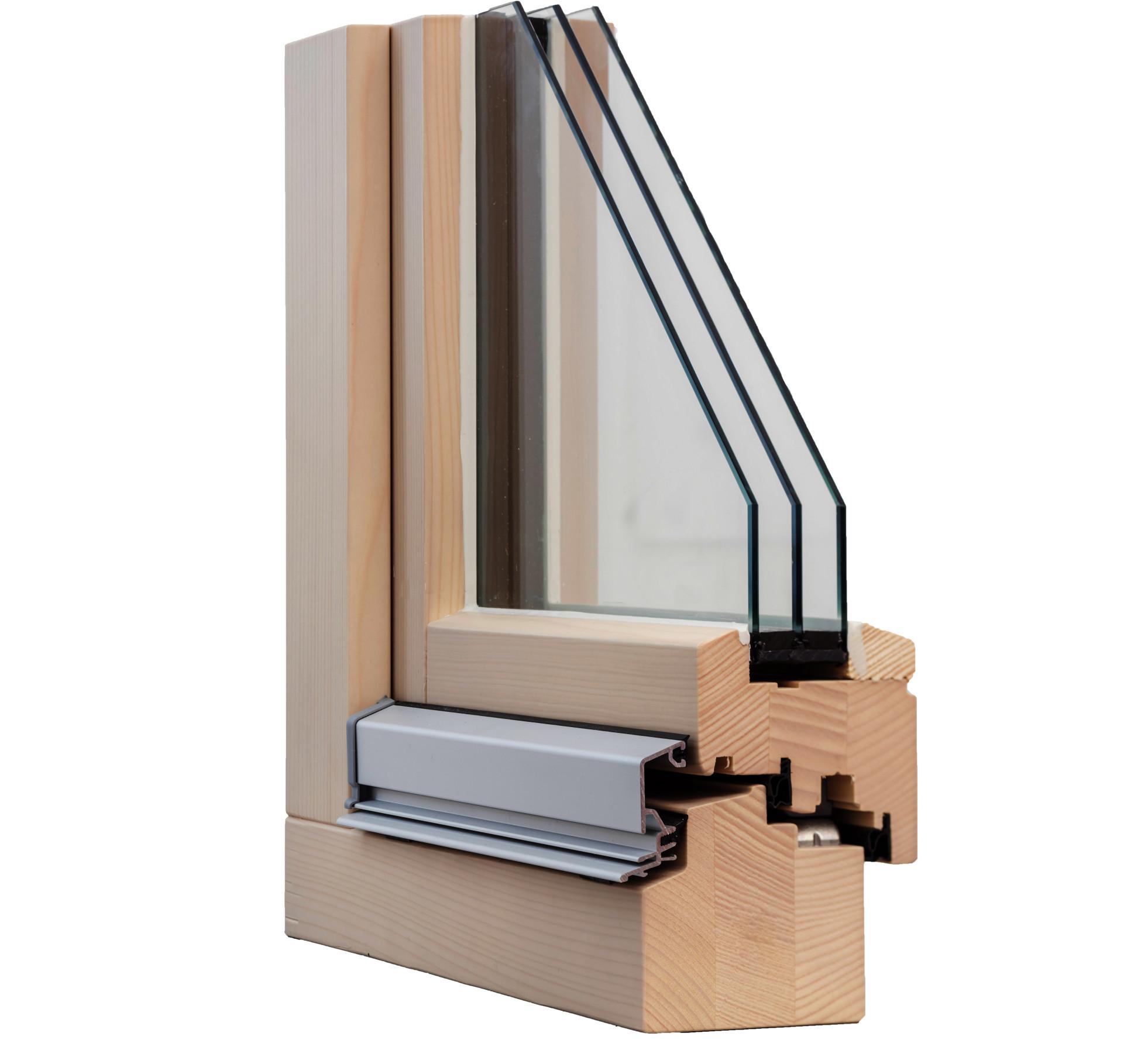Querschnitt ERNE Holzfenster