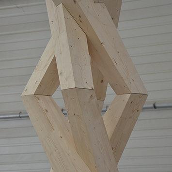 Skulptur Weinstock - Biennale Venedig