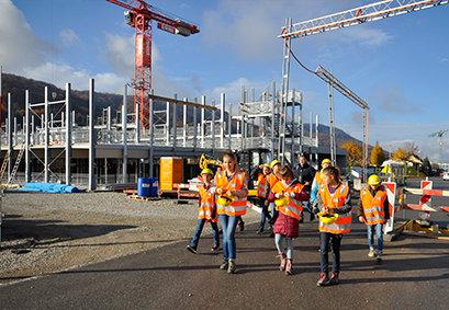 Zukunftstag bei ERNE AG Holzbau
