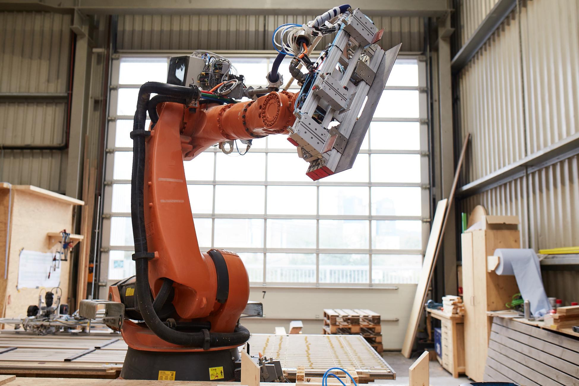 Kuka Roboter im Einsatz