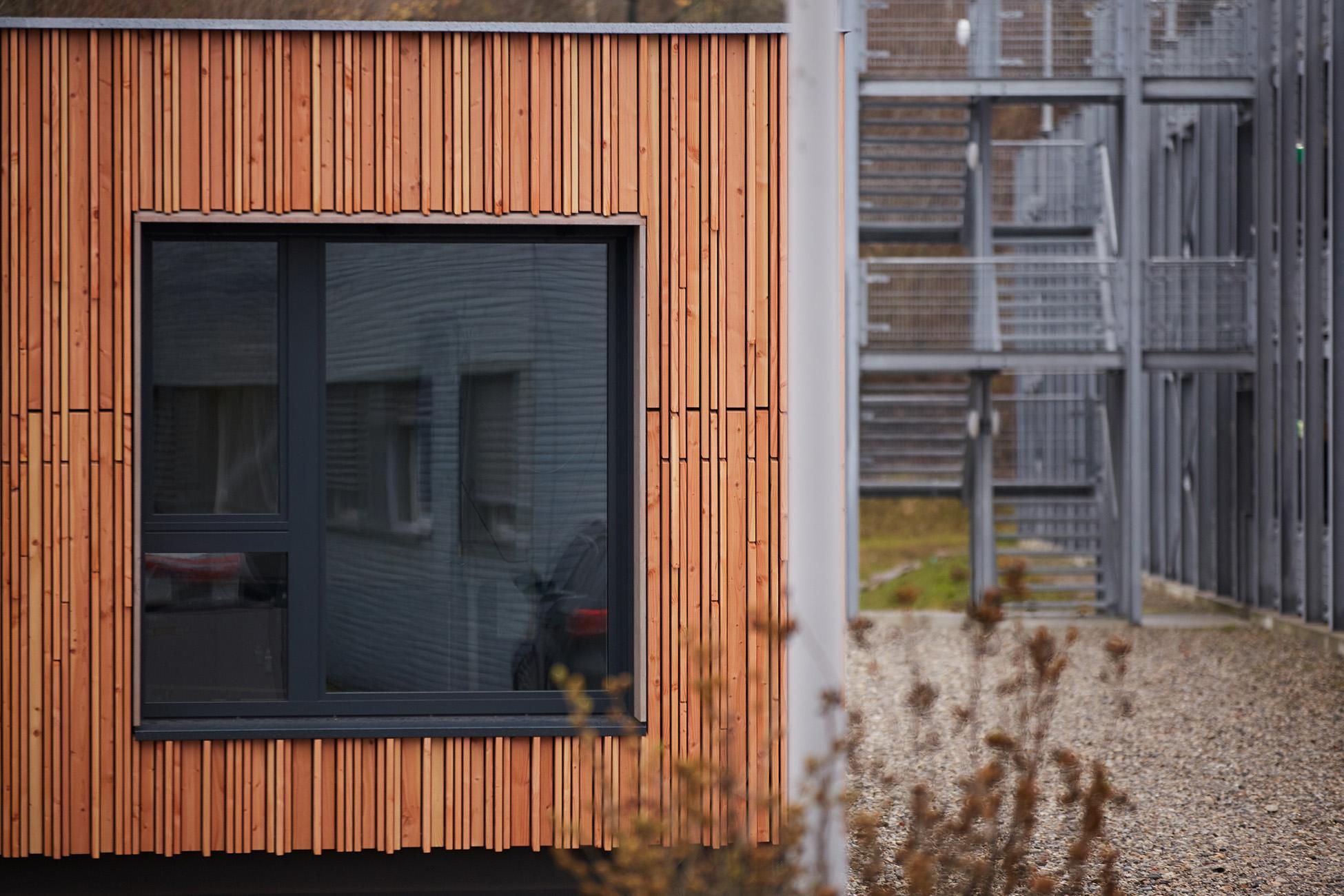 Auschnitt, Fenster, Baubüro Saig in Stein