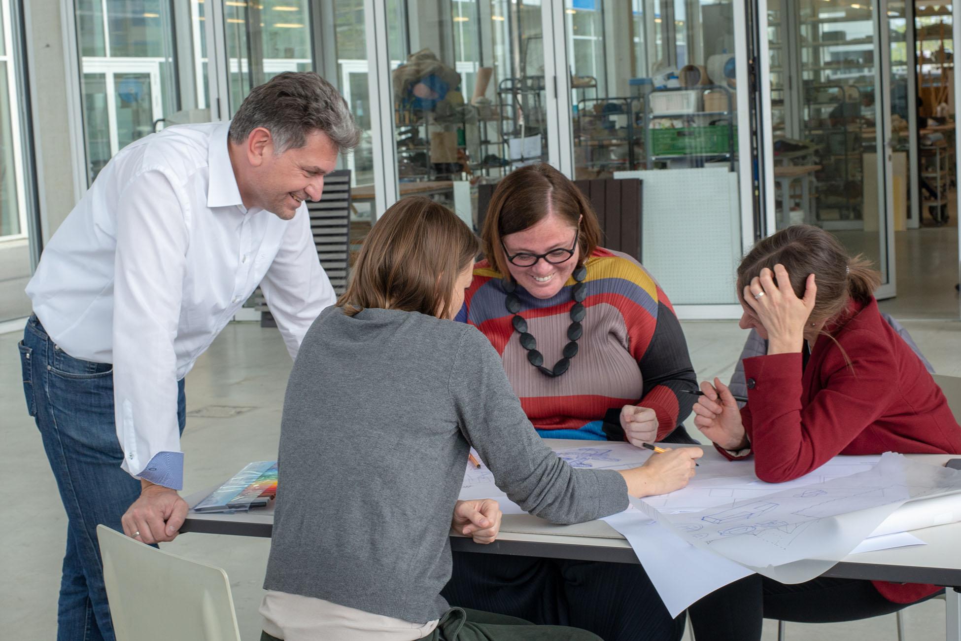 Workshop mit Architekten