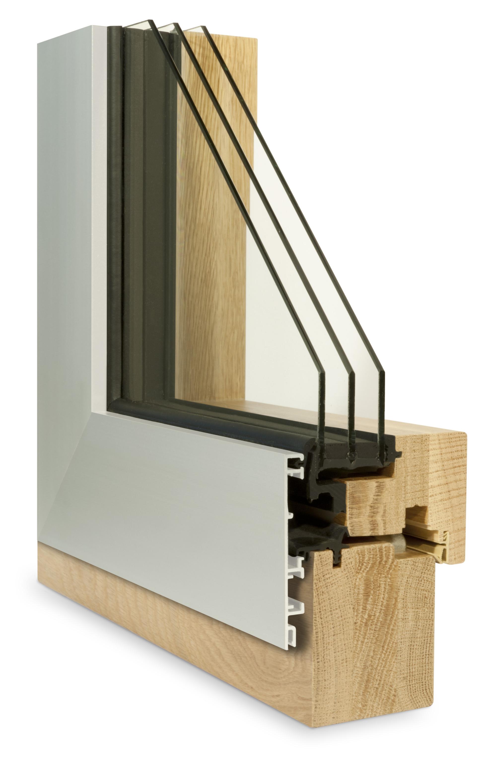 Muster Fensterschnitt